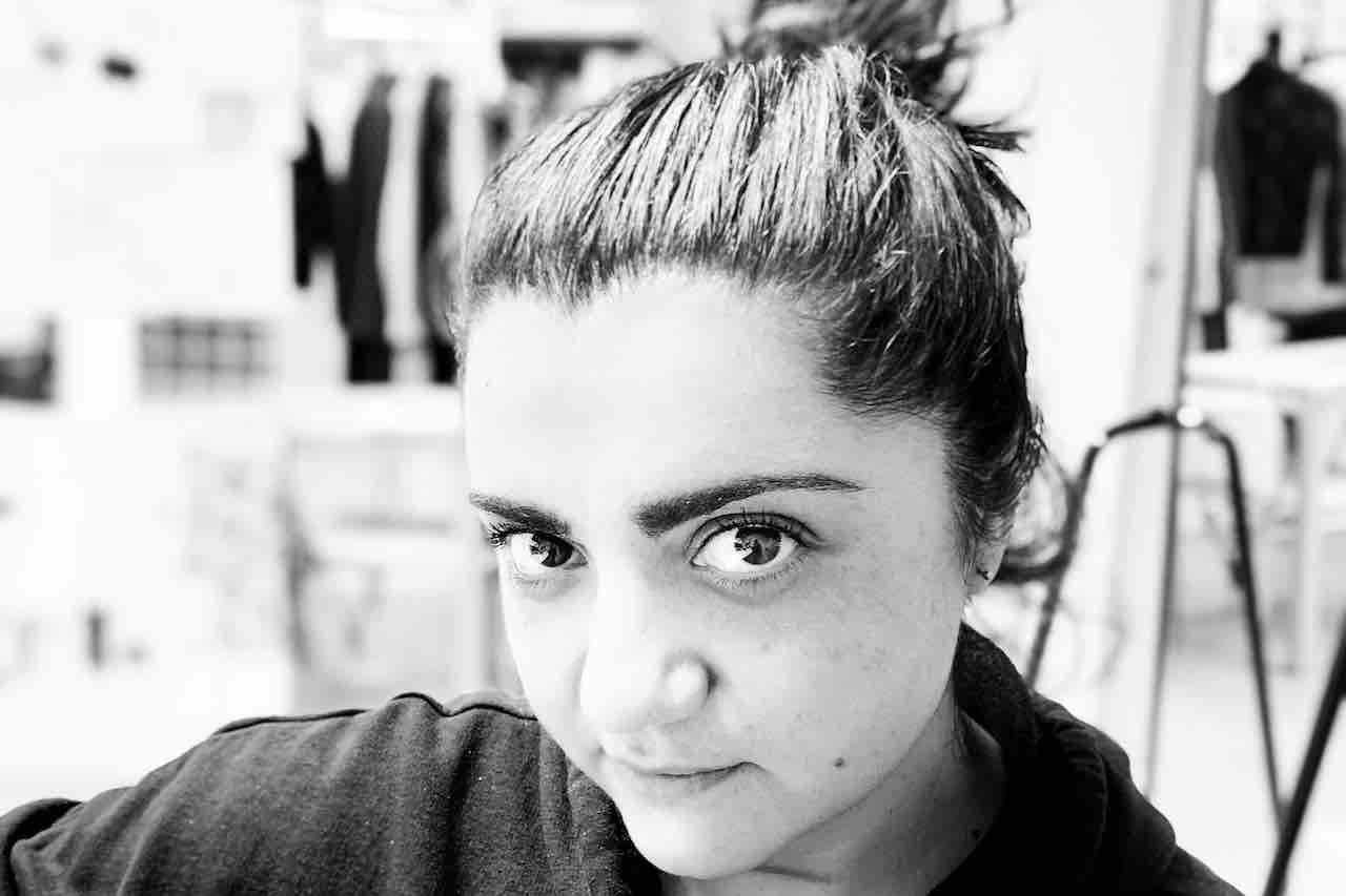 Primo piano di Giulia Burrascano