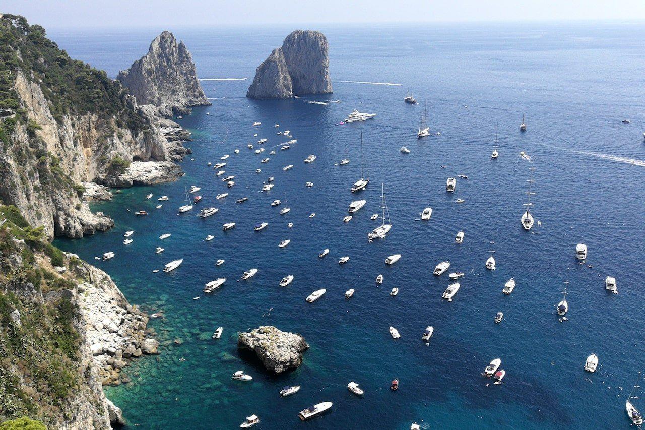 Italia, Capri e il mare