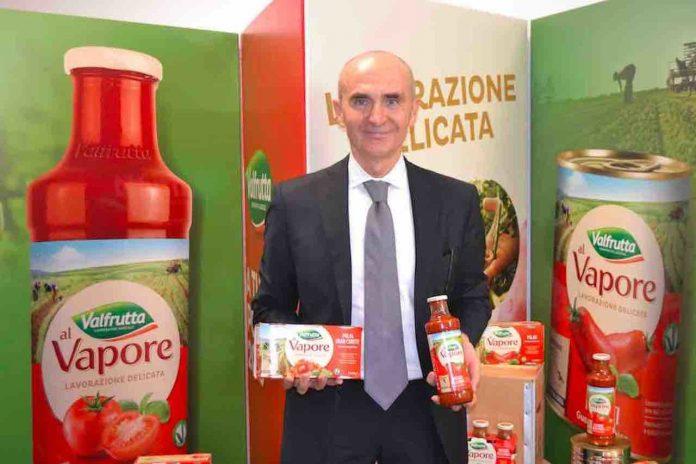 Pomodoro: il direttore generale di Conserve Italia, Pier Paolo Rosetti.