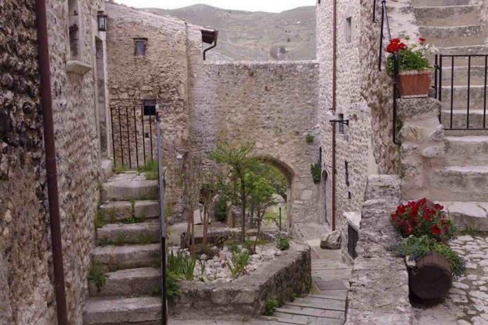 Abruzzo, uno scatto del comune di Santo Stefano di Sessiano