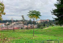 Monte Ciocci, la vista di Roma dall'alto con San Pietro in prima linea