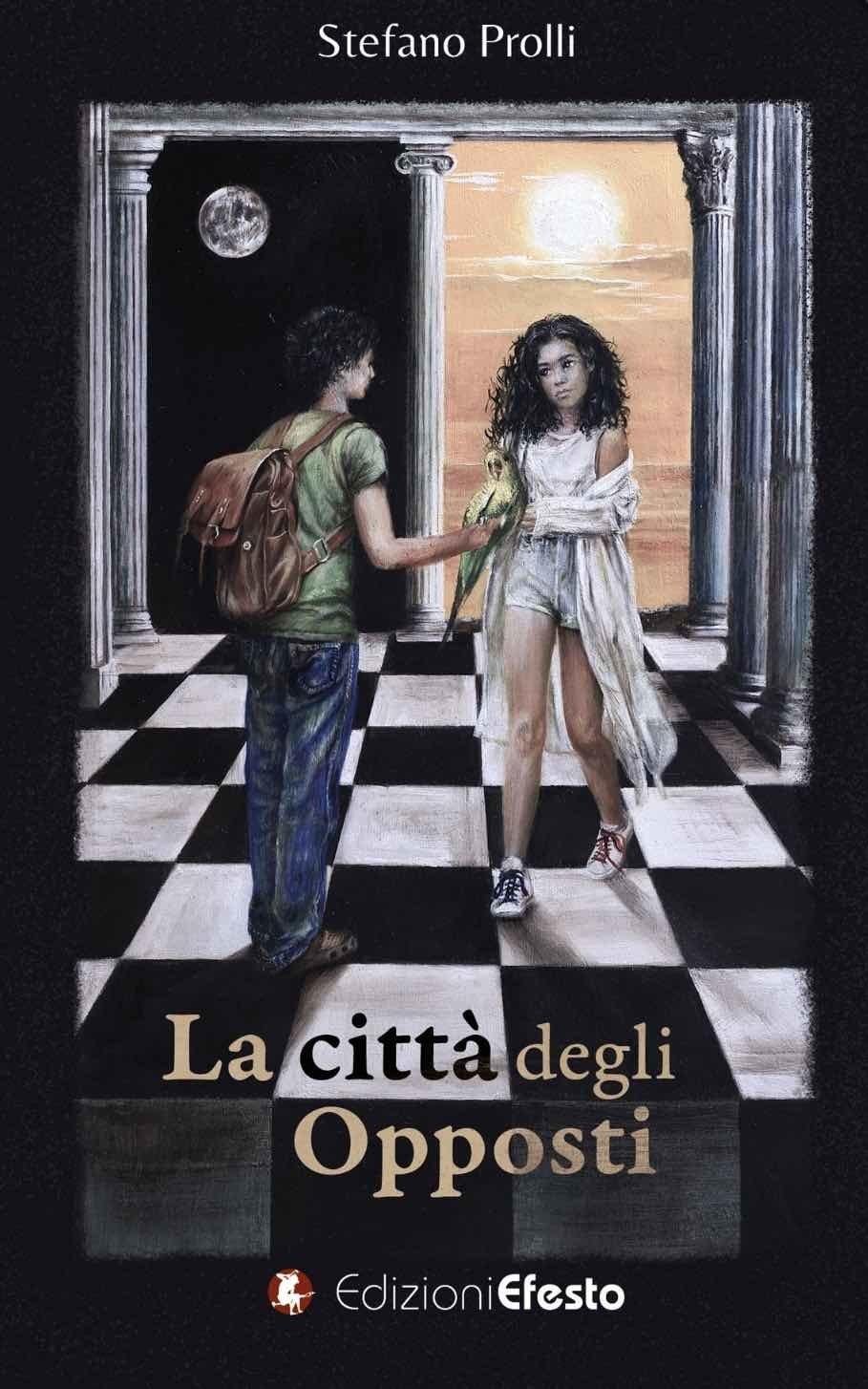 Stefano Prolli, la copertina del suo libro la città degli opposti