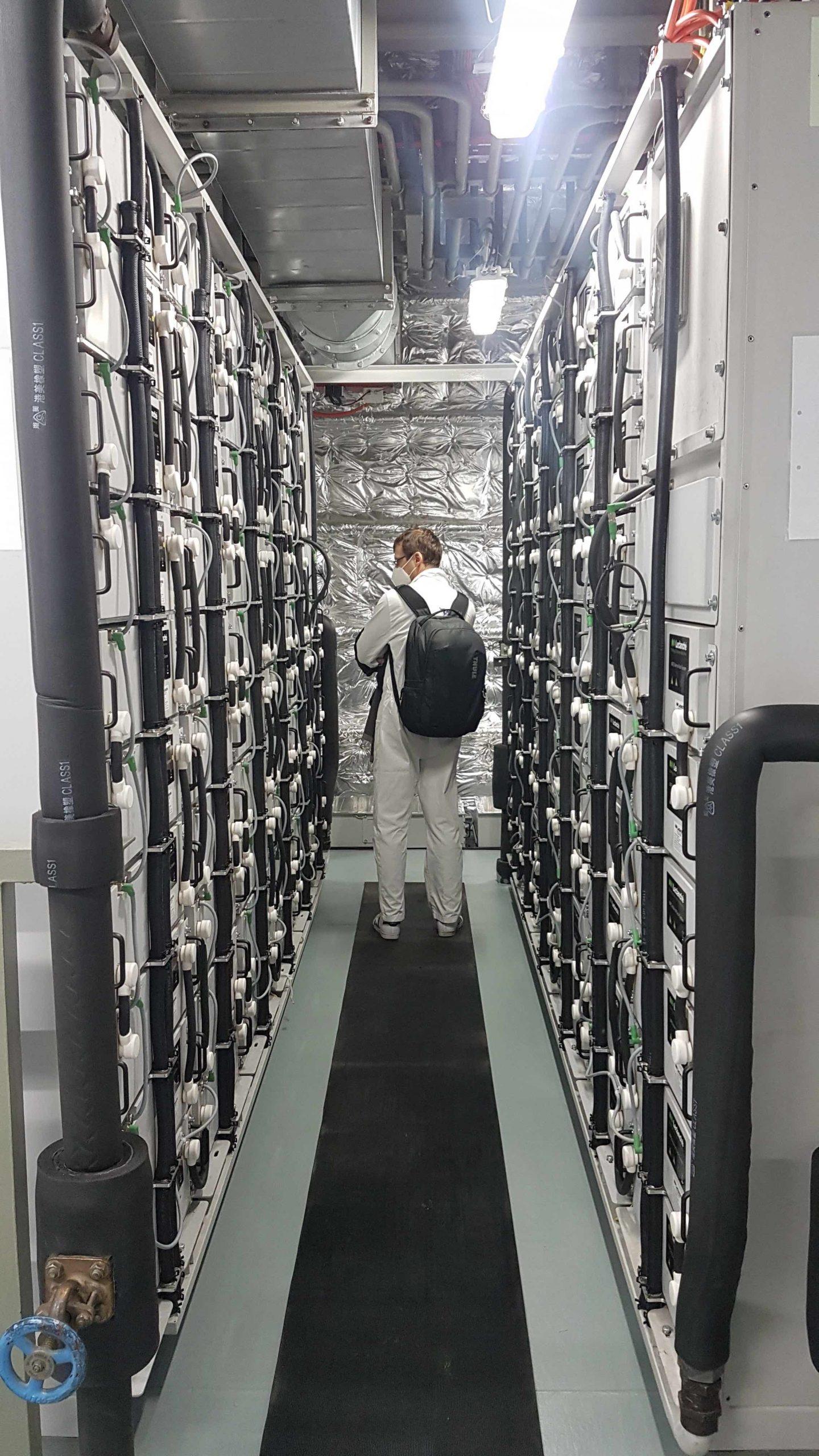 Grimaldi, le batterie che muovono le navi ibride