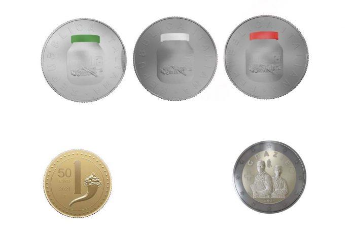 Euro, alcune monete della collezione numismatica 2021