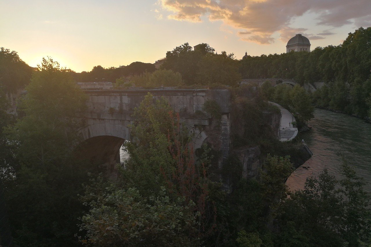 Ponte Emilio a Roma