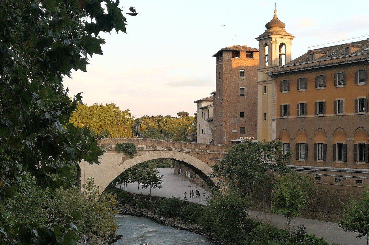 Ponte Fabricio a Roma