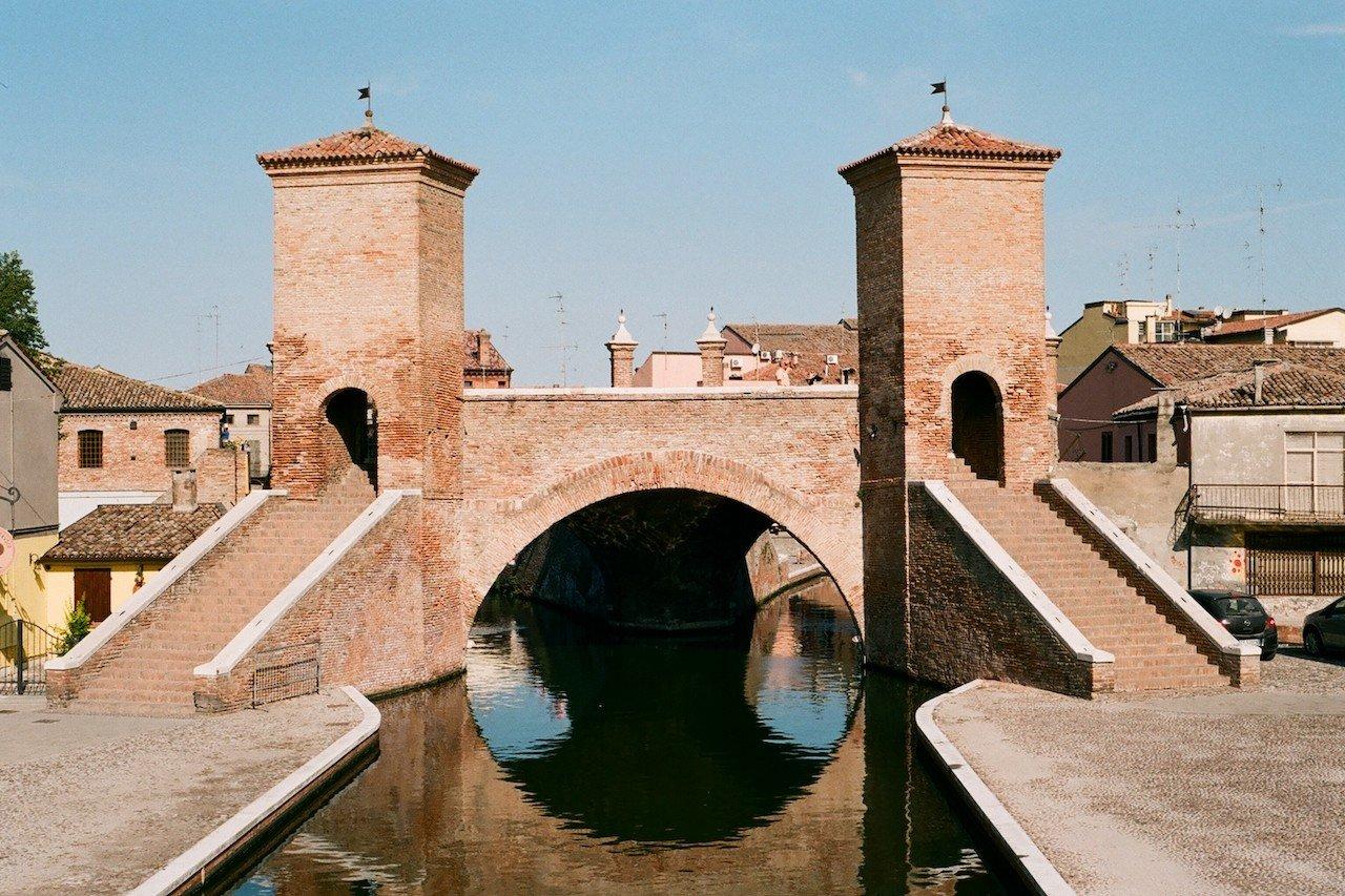 Ponti d'Italia, Trepponti di Comacchio