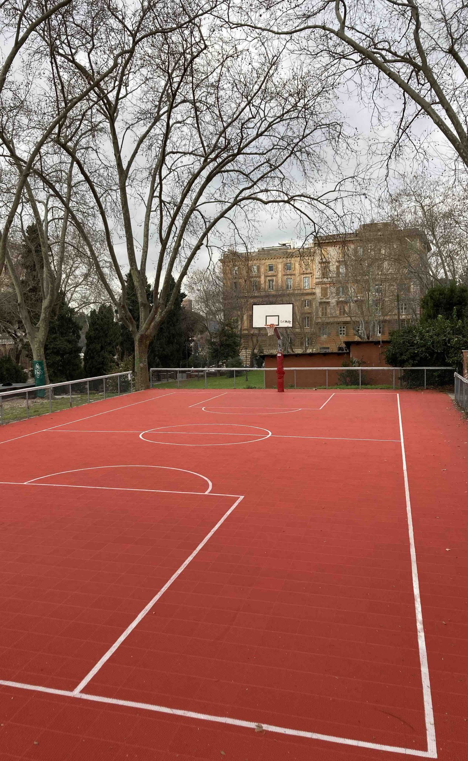 Skate park ma anche un campo da basket