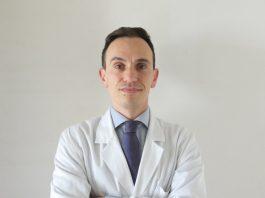 Spalla, il dottor Luca Di Martino in primo piano