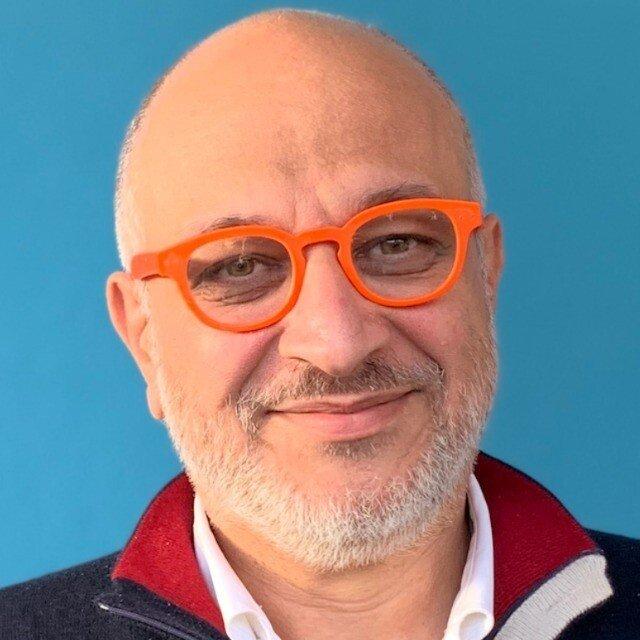 Primo piano di Nicola Mattina, imprenditore