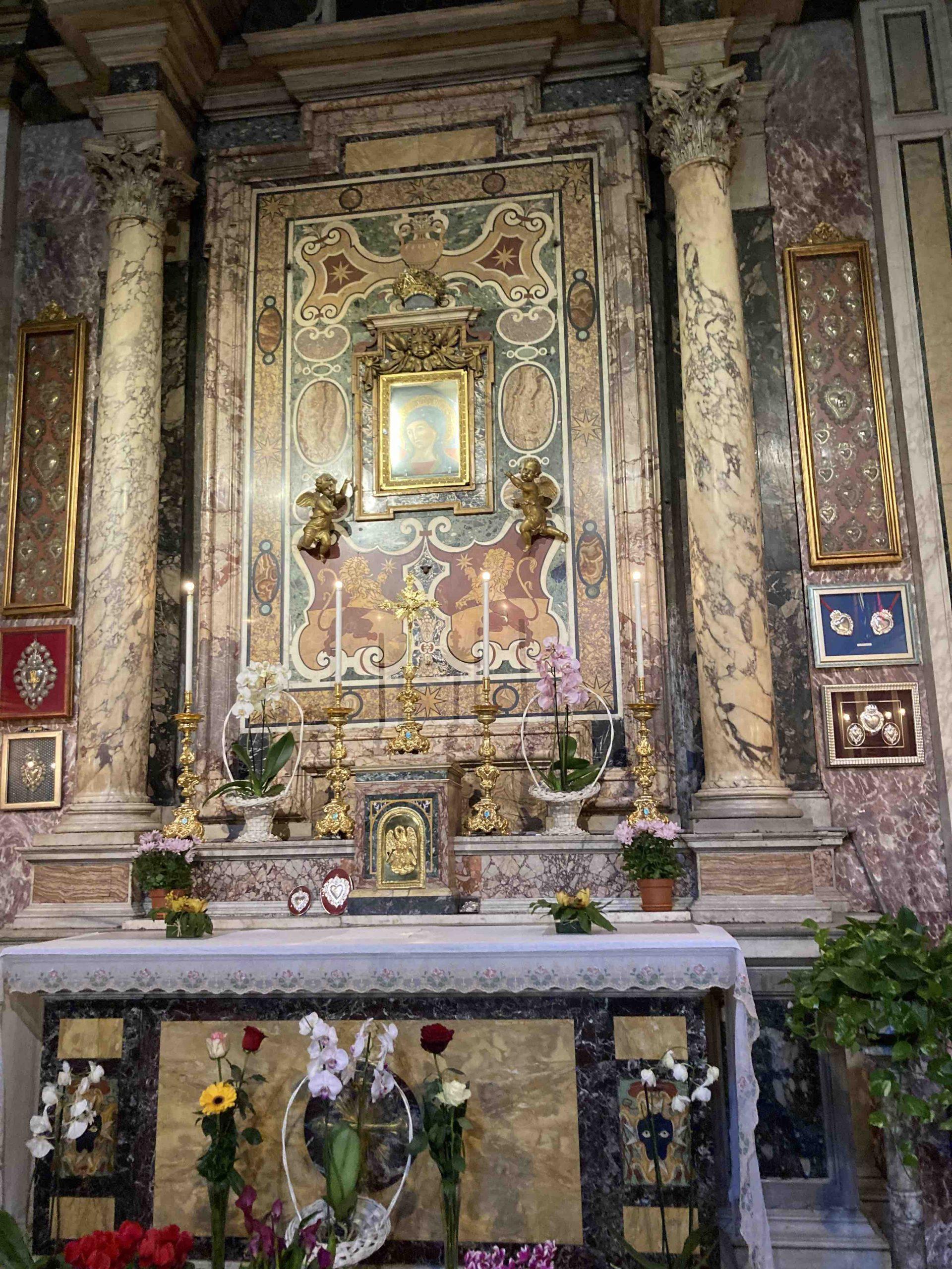 Madonna del Pozzo, la Cappella dedicata alla Vergine