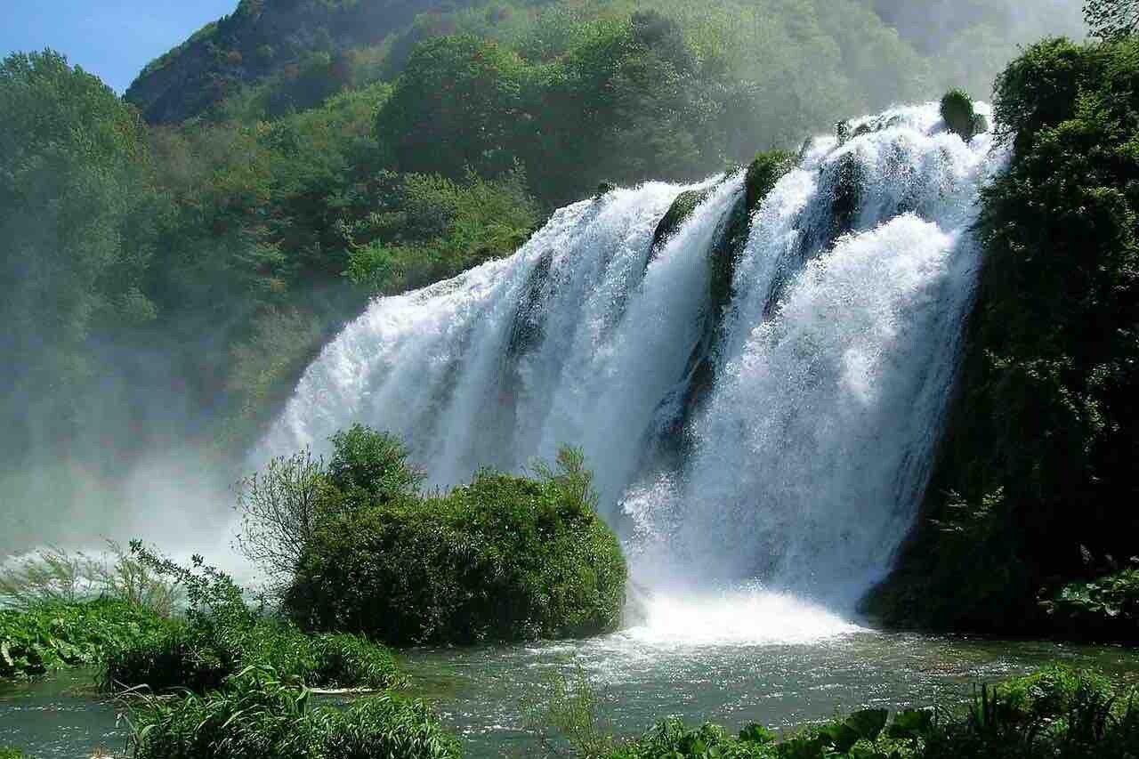 Cascata delle Marmore, la potenza dell'acqua