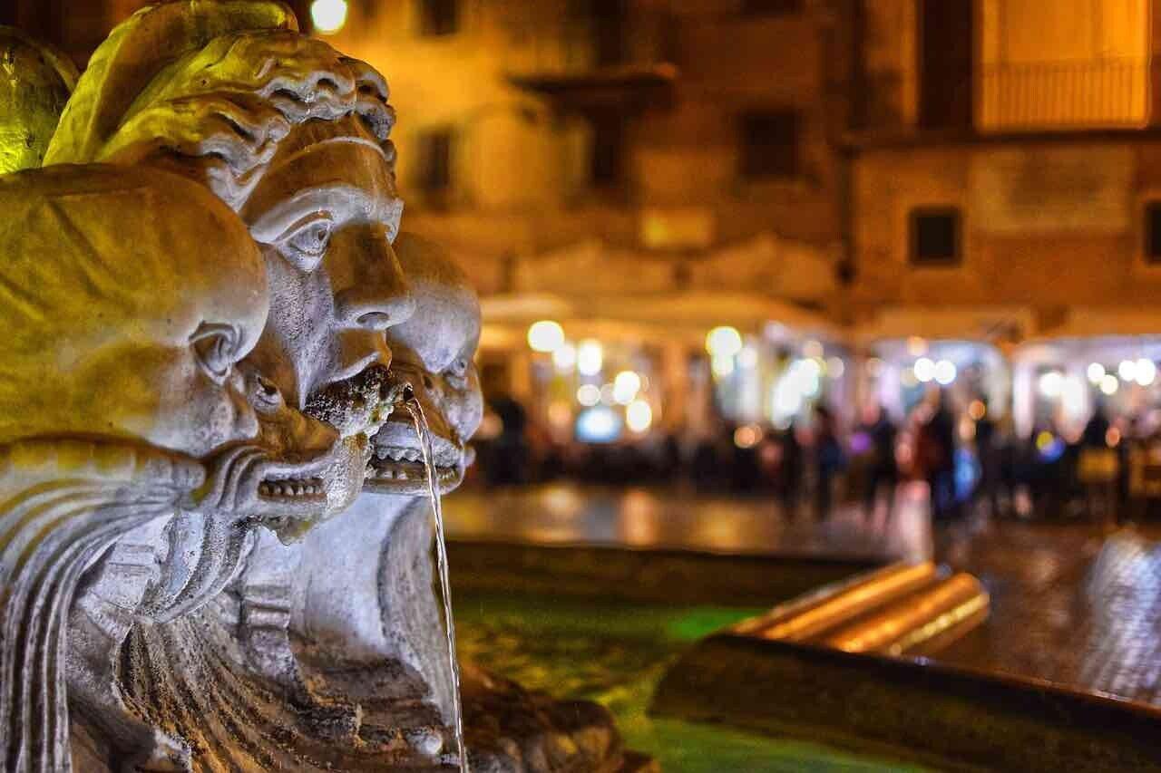 Fontana, primo pianto a Piazza Navona