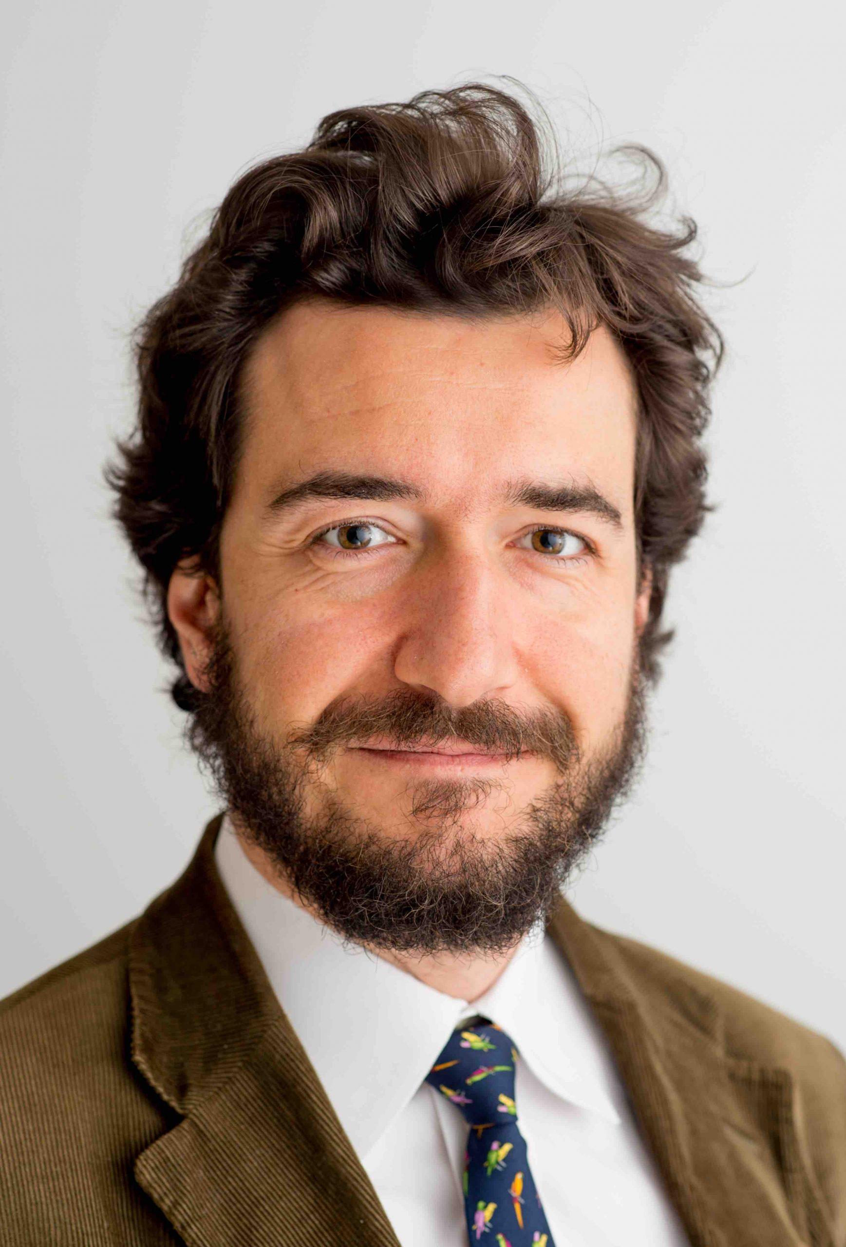 Giulio Pugliese in primo piano