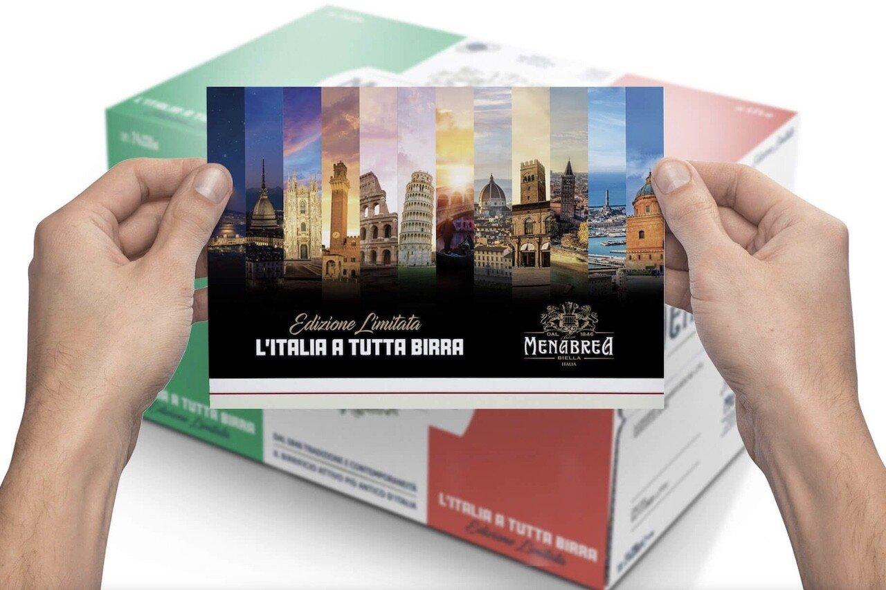 """Menabrea e la limited edition """"Italia a tutta birra"""""""