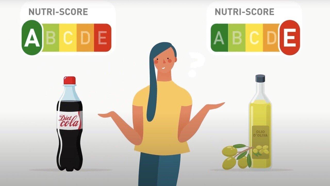 L'etichetta Nutriscore danneggia i prodotti italiani