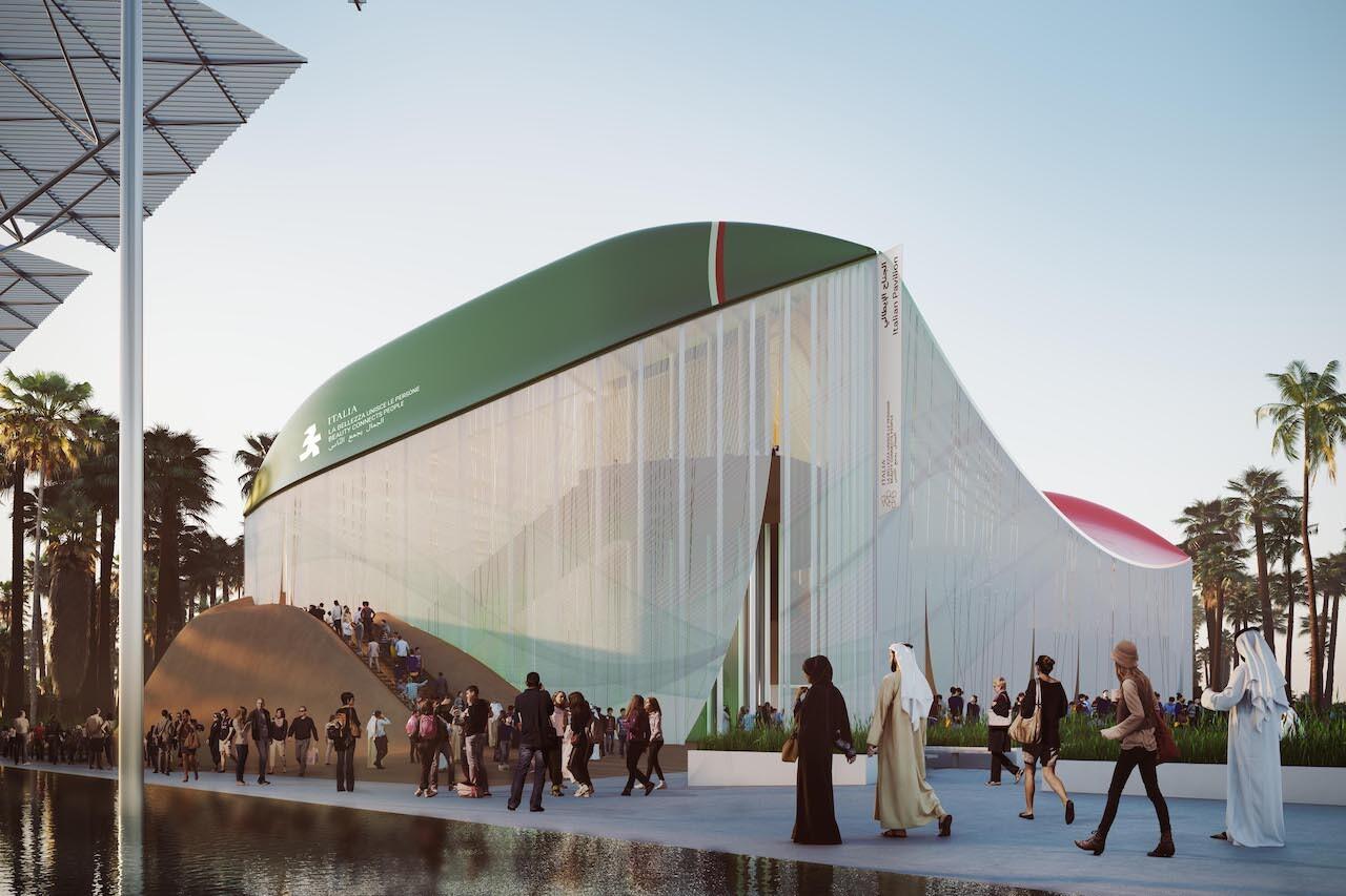 Expo 2020, il rendering del Padiglione Italia