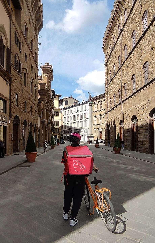 Rider di Robin Food a Firenze
