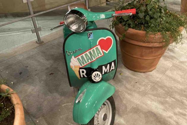 La Vespa: simbolo di Mama Shlelter Roma