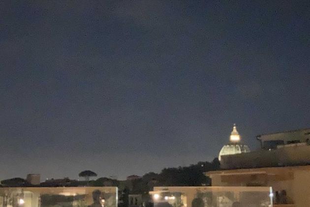 Mama Shelter Roma, panorama dal rooftop su San Pietro